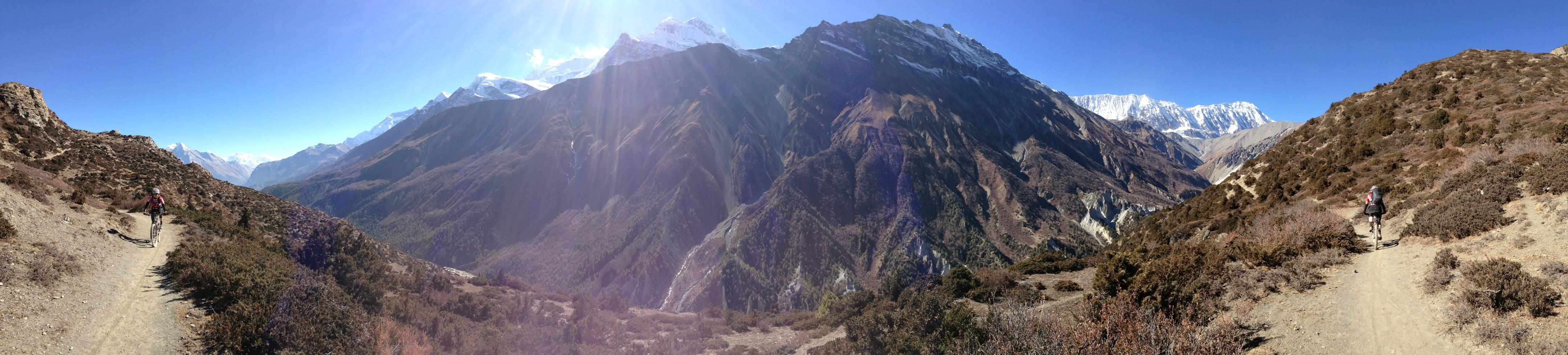 Trail Richtung Tilicho