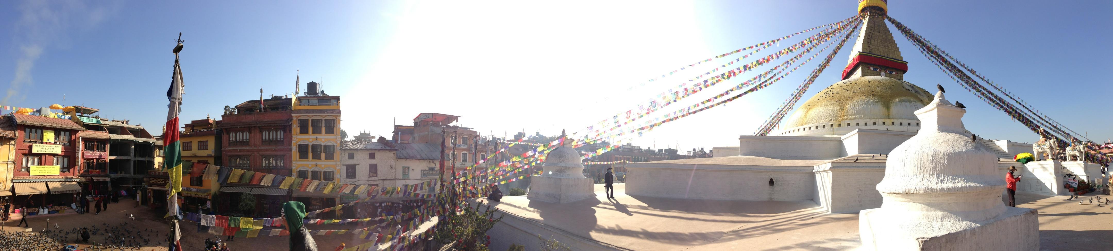 Bodnath-Stupa in Kathmandu