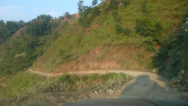 Dirt road kurz vor Arugat