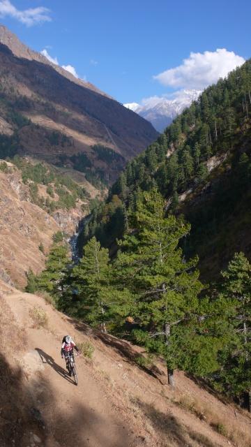 ...wo uns flowige Trails erwarteten!