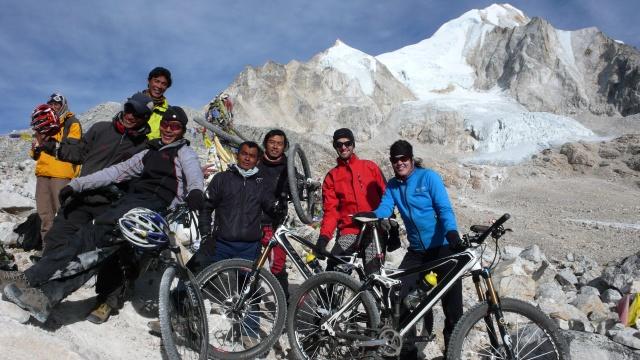 Pass erreicht (Larke La, 5100 m)