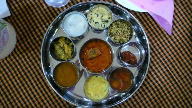 Lecker, das indische Essen!